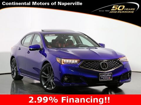 Certified Pre-Owned 2019 Acura TLX 2.4 w/A-Spec Pkg