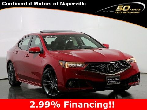 Certified Pre-Owned 2019 Acura TLX 2.4L A-Spec Package