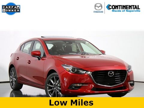 Certified Pre-Owned 2018 Mazda3 Grand Touring W/Heated Seats