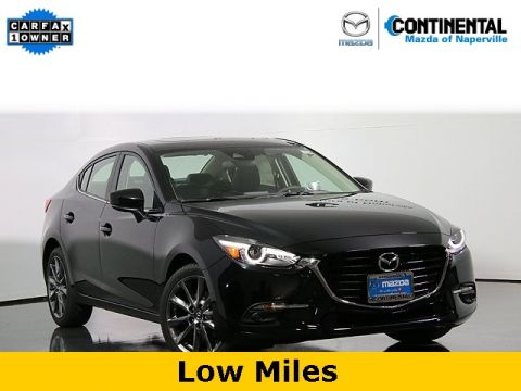 Certified Pre-Owned 2018 Mazda3 Grand Touring W/Leather