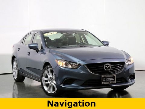 Certified Pre-Owned 2016 Mazda6 i Touring W/NAVIGATION