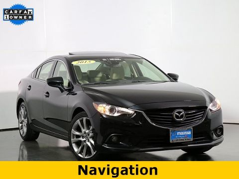 Certified Pre-Owned 2015 Mazda6 i Grand Touring W/Moonroof