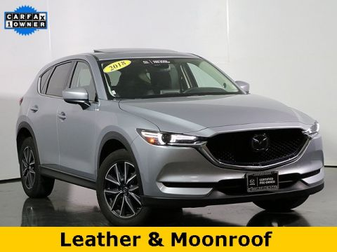 Certified Pre-Owned 2018 Mazda CX-5 Grand Touring w/Navigation