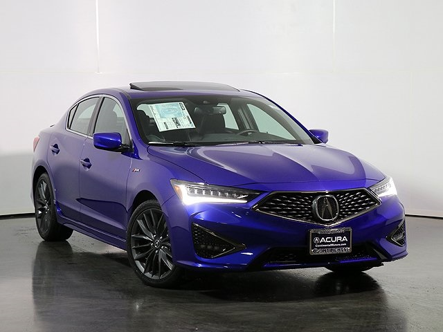 New 2019 Acura ILX Premium A-SPEC Packages