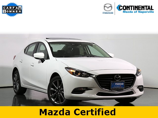 Certified Pre-Owned 2018 Mazda3 Touring W.Moonroof