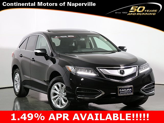 Certified Pre-Owned 2016 Acura RDX Technology Package
