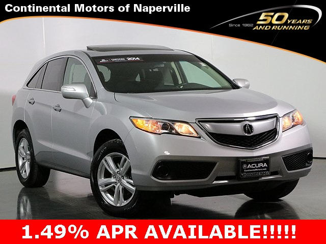 Certified Pre-Owned 2014 Acura RDX AWD