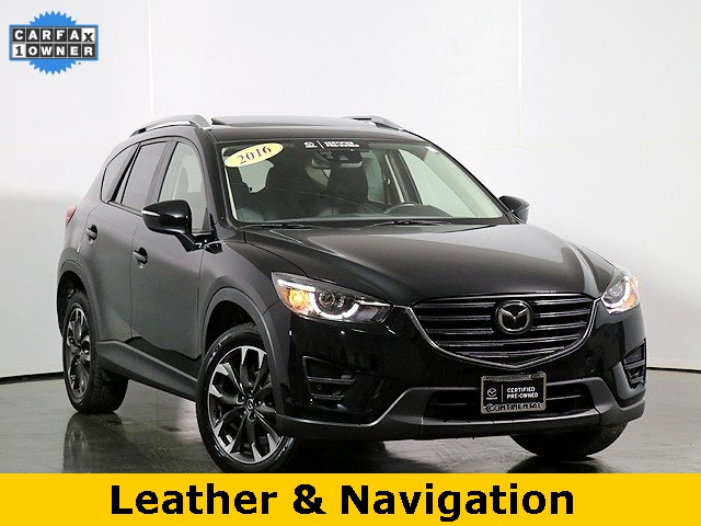 Certified Pre-Owned 2016 Mazda CX-5 Grand Touring W/Tech & I Active