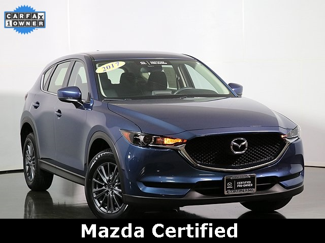 Certified Pre-Owned 2017 Mazda CX-5 Sport Back Up Camera