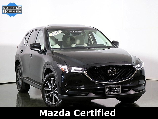 Certified Pre-Owned 2017 Mazda CX-5 Grand Touring W/Premium Package