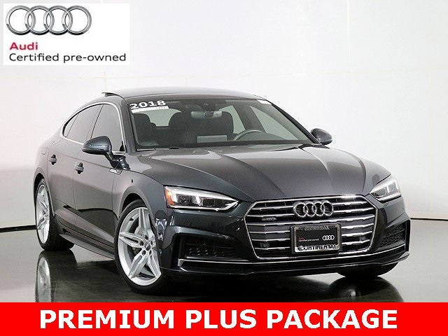 Certified Pre-Owned 2018 Audi A5 2.0T Premium Plus