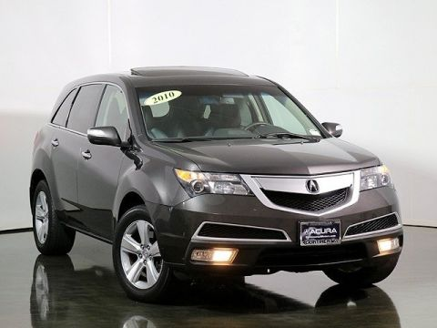 Certified Pre-Owned 2010 Acura MDX Technology