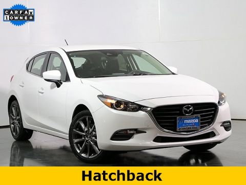 Certified Pre-Owned 2018 Mazda3 Touring W/Blind Spot Monitoring