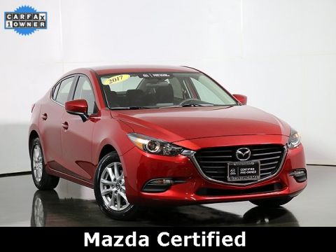 Certified Pre-Owned 2017 Mazda3 Sport W/Prefererred Equipment Package