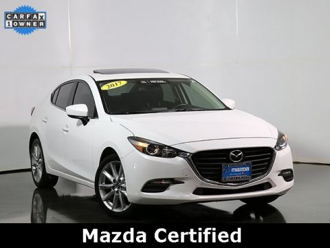 Certified Pre-Owned 2017 Mazda3 Touring Popular Equipment Package