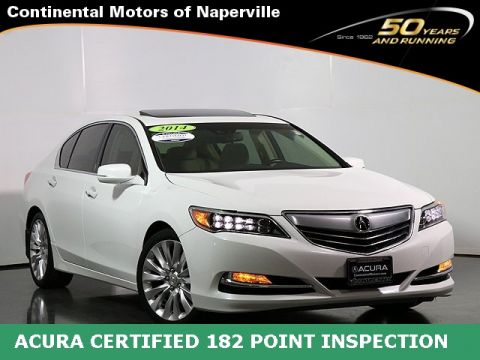 Certified Pre-Owned 2014 Acura RLX Tech Pkg