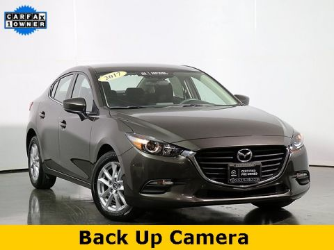 Certified Pre-Owned 2017 Mazda3 Sport Automatic