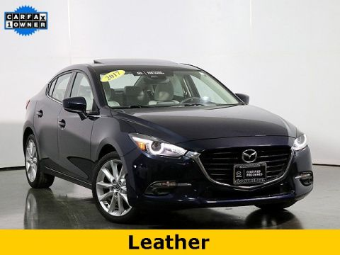 Certified Pre-Owned 2017 Mazda3 Grand Touring W/Premium Equipment Package