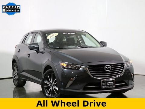 Certified Pre-Owned 2017 Mazda CX-3 Touring W/Bluetooth