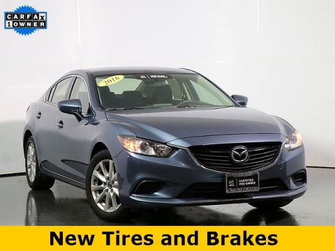 Certified Pre-Owned 2016 Mazda6 i Sport W/ Alloys
