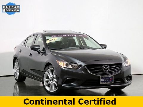 Pre-Owned 2016 Mazda6 i Touring 6 Speed