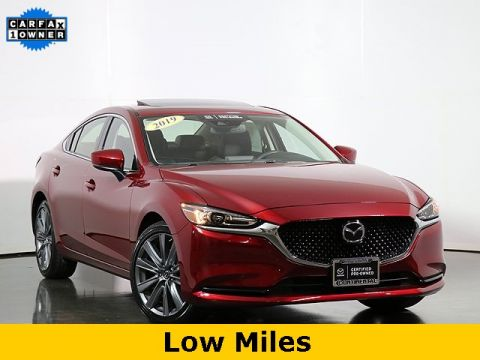 Certified Pre-Owned 2019 Mazda6 Grand Touring W/Moonroof