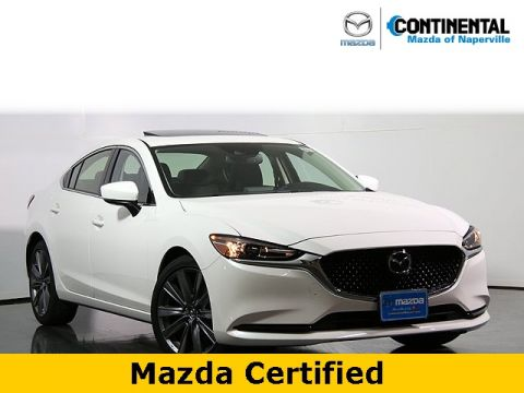 Certified Pre-Owned 2018 Mazda6 Grand Touring W/Navigation