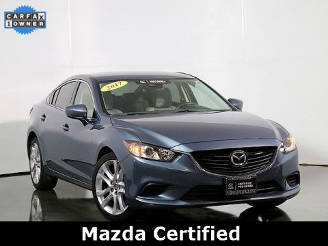 "Certified Pre-Owned 2017 Mazda6 Touring 19"" Wheels"