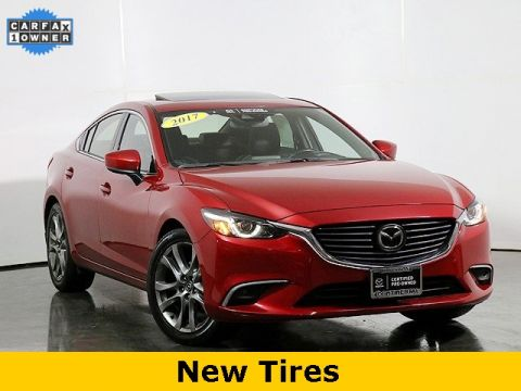 Certified Pre-Owned 2017 Mazda6 Grand Touring w/Heated Seats