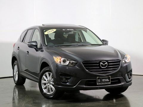Certified Pre-Owned 2016 Mazda CX-5 Touring W/Moonroof