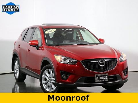 Certified Pre-Owned 2015 Mazda CX-5 Grand Touring SIRIUS SATELLITE RADIO