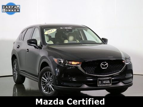 Certified Pre-Owned 2017 Mazda CX-5 Touring Low Miles
