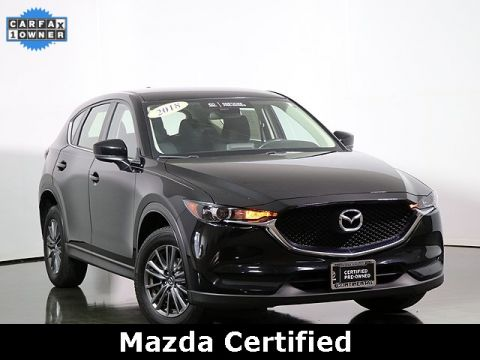Certified Pre-Owned 2018 Mazda CX-5 Sport All Wheel Drive