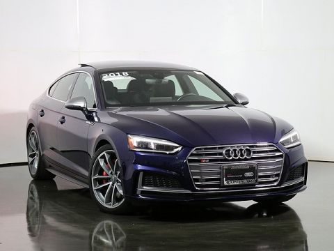 Certified Pre-Owned 2018 Audi S5 3.0T Premium Plus