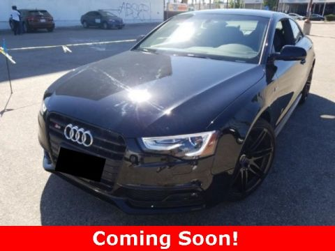 Certified Pre-Owned 2017 Audi S5 3.0T
